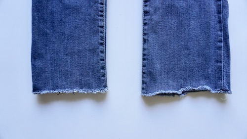 how to fray cut off jeans