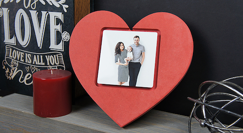 valentine's day gifts heart frame