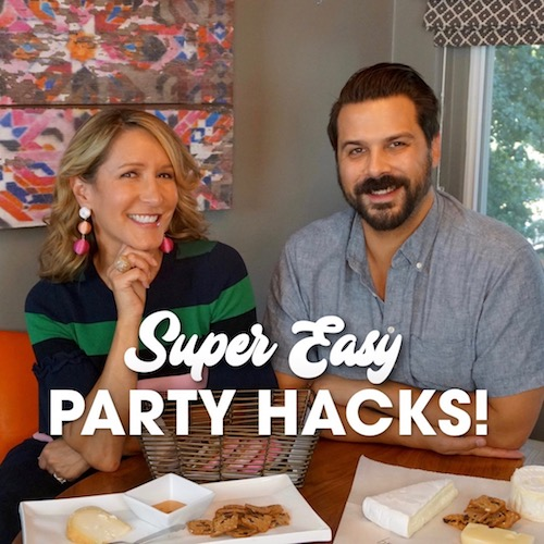 four easy Party Hacks that save time and money