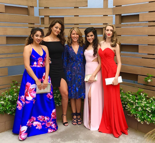 Pretty Prom Dresses and Getting Glam