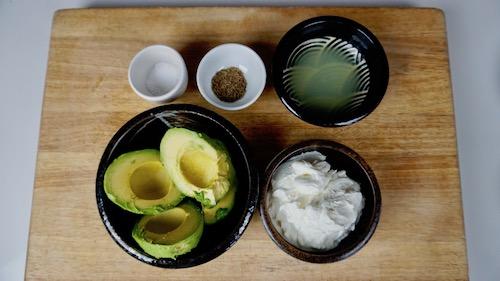 avocado-yogurt-recipe-ingredients
