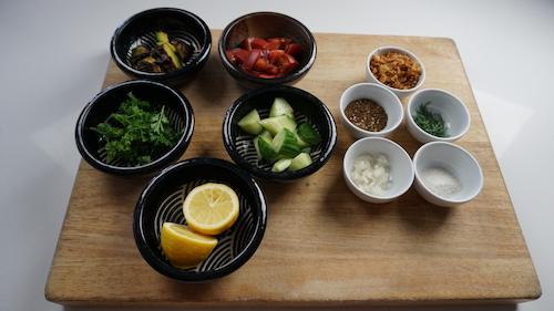 fattoush-salad-ingredients