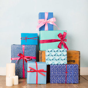 wrapped presents - travel and leisure